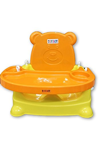 Toyboy Honey Bee 5 In 1 Baby Booster Seat Cum Swing - Orange