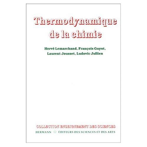 Thermodynamique de la chimie