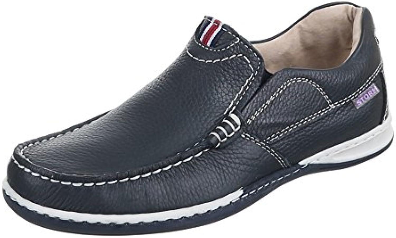 Herren Schuhe  3492  HALBSCHUHE LEDER MOKASSINS
