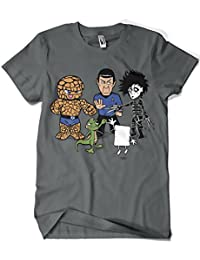 541-Camiseta Big Bang Theory - Piedra Papel Tijera (Samiel)