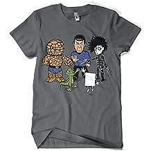 541-Camiseta Big Bang Theory - Piedra Papel Tijera (Samiel)
