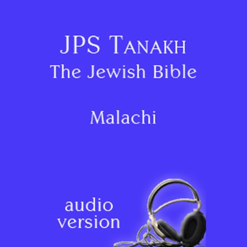 The Book of Malachi: The JPS Audio Version  Audiolibri