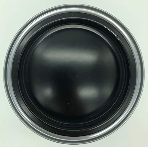 PRAXIS Buntlack Acryl seidenglänzend wasserverdünnbar Innen/Außen 1,5L (Schwarz 150) -