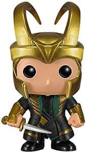 Funko Pop Vinile Marvel Loki con Il Casco, 4399