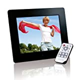 Intenso Photobase Digitaler Bilderrahmen (20,3cm (8 Zoll) Display, SD Kartenslot, Fernbedienung) schwarz medium image