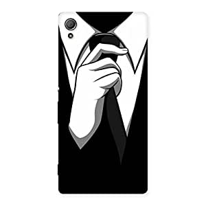 Tie Knot Back Case Cover for Xperia Z4