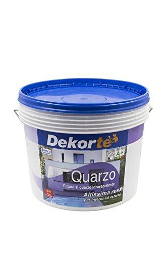 gdm-quarzo, pintura al cuarzo impermeable para exterior, dekortè), co