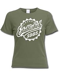Established 1985 - Cadeau d'anniversaire 31 ans T-Shirt Femme