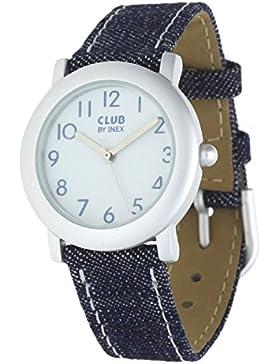 Club Kinder - Armbanduhr Analog Quarz Jeans Mädchenuhr - Jungenuhr A65102S0A