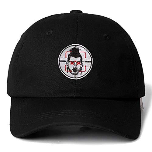 TRGFB Baseball Cap Eminem Baumwolle Hysteresenkappe Baseball Cap Für Männer Frauen Hip Hop Papa Hut Knochen Hysteresen