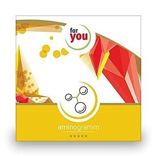 for you aminogramm I zertifizierter Labor Test zur Messung des Aminosäuren-Spiegel I Aminosäuren testen zB Glutamin Alanin Aginin Valin Leucin Test I Bluttest für Zuhause
