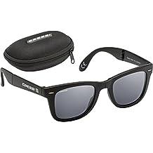 Cressi Taska - Gafas plegables unisex, color negro, talla única