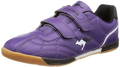 KangaROOS Hector-Combo 11035, Unisex-Kinder Hallenschuhe, Violett (violet/white/black), EU 30