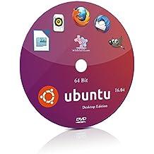 Ubuntu 16.04 64 Bit Live Bootable Installation DVD