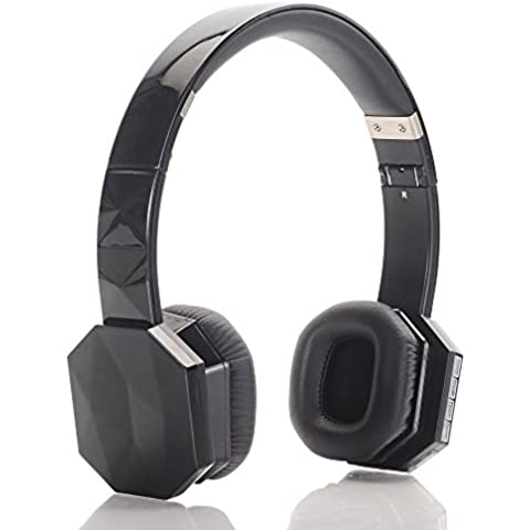 Aita BT821 Plegable Auriculares Inalambricos Bluetooth 4.1+EDR los Cascos de Manos Libre con Micrófono Incorporado Estéreo, Bajo fuerte y Cancelación de Ruido para iPhone 7 7 Plus 6 6 Plus 6s iPad iPod Smartphone etc. Headphone for Niños y Adultos