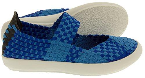 E-Weez Bounce Chaussures Mary Janes été Femmes Bleu