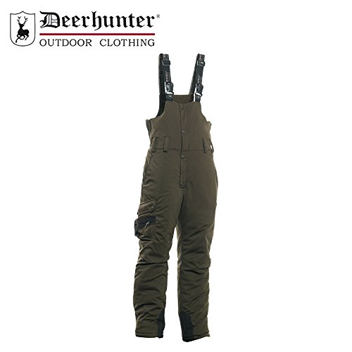 Deerhunter Muflon Latzhose 3820, Outdoor- & Jagdhose, 376 Art Green, Gr. 52
