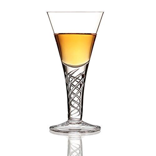 Eburya Jacobite Dram - Jakobiten Whisky Glas - original Glencairn Kristall Schottland