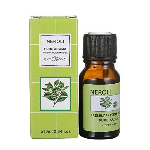 MMLC Luft Aroma ätherisches Öl Diffuser LED Ultraschall Aroma Aromatherapie Luftbefeuchter Raumbefeuchter (Neroli Oils)