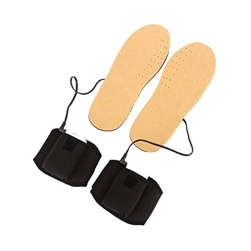 Following Plantilla calefactada para Calentador de pies, Plantillas térmicas para Zapatos, USB Recargable Plantilla de Calentamiento de pies con batería