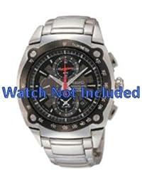 Correa de reloj de Seiko 7t62 0hh0/SNAA95P1 (no incluido el reloj. Correa de reloj original solamente)