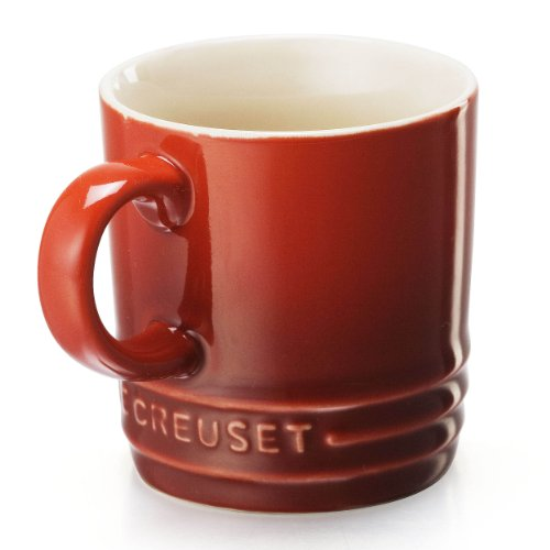 Le Creuset 0630870220408 Tasse à Expresso, Céramique, Cerise, 6 cm