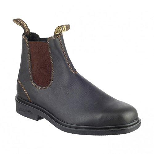 Blundstone 1308 Rustic Boots en Cuir Noir Homme