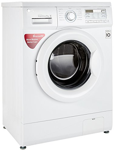 LG 6 kg Fully-Automatic Front Loading Washing Machine (FH0B8NDL22, Blue White)