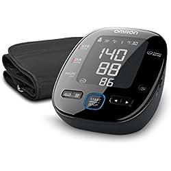 1 de OMRON MIT5s Connect - Tensiómetro de brazo, Bluetooth, aplicación OMRON Connect para móviles, indicador de hipertensión