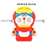 Acid Eye Cartoon Power Bank 5200mah Dual USB Lovely Cartoon Doremon powerbank external Battery Battery Portable Charger for all phone. Battery Type Environmental of lithium battery. Output Current: 5V/1A Input Current 5V/1A. Coolest Design Cartoon Superhe