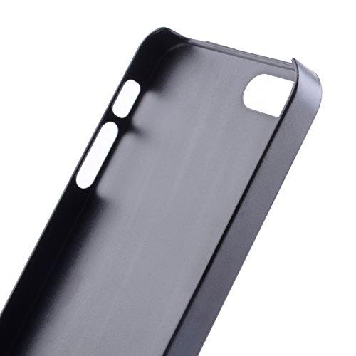 MOONCASE Etui pour iPhone 5G / 5S Hard House Case Coque Cover Étui Shell Mi07 Mi04 #1122
