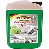 Liquide vaisselle concentré liquide vaisselle main pomme 5litres de nettoyant vaisselle vaisselle Nettoyant Bidon