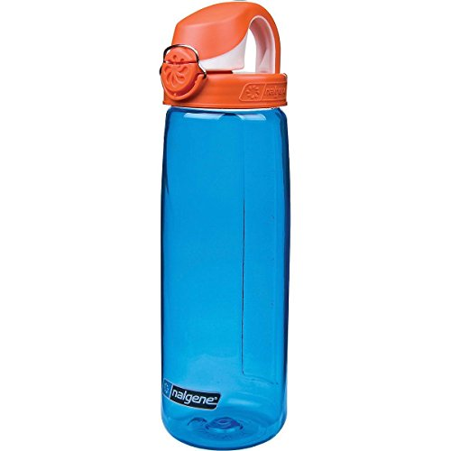 Nalgene \'Everyday OTF\' - 0,7 L, blau, Deckel orange-weiss