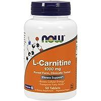 NOW Foods - L-Carnitin 1000 mg. - 50 Tabletten preisvergleich bei billige-tabletten.eu