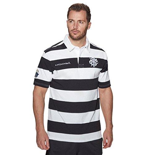 Kooga 2017/18 Home S/S Klassisches Herren Rugby Shirt, Weiß/Rot, XXL (Shirts Rugby Kooga)