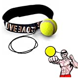 juego de accesorios para gimnasia professional grade fitness equipment Sannysis bolas barata ideal para practicar kick boxing quality adjustable boxing skipping speed for all exercises training (amarillo 01)
