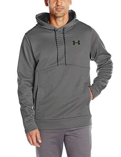 Under Armour Herren Af Icon Solid Po Hood Oberteil Carbon Heather
