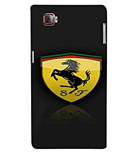 Horse, Black, Magnificent Pattern, Beautiful Pattern, Printed Designer Back Case Cover for Lenovo Vibe Z2 Pro :: Lenovo K920 :: Lenovo Vibe Z2 Pro K920