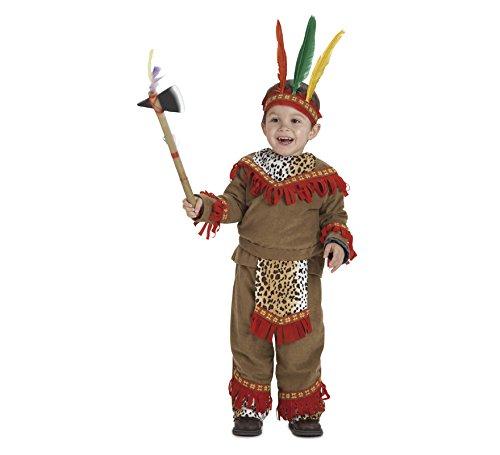 Imagen de disfraz de bebé indio lujo para niños de 1 3 años