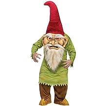 Horror Enano cuento Halloween Disfraz Verde Rojo