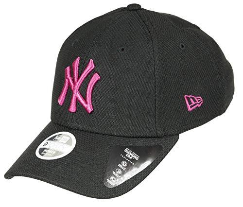 New Era New York Yankees Cap New Era MLB Baseball 9forty Damen Verstellbar Schwarz Pink - One-Size