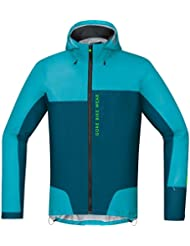 Gore Bike Wear Power Trail Gore-Tex Active - Chaqueta para hombre, color azul, talla XXL
