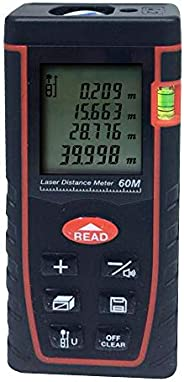 Digital Laser Rangefinder Distance Meter Tape Measure Area Volume