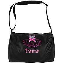 Alvivi Bolsa de Ballet Niña Bolsa de Danza Deportes Infantil Tote Bolsa  Lentejuelas Brillantes Bandolera De 14f13fe6e53d8