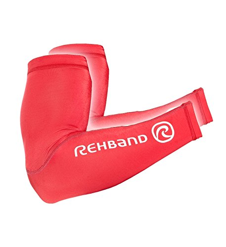 Rehband, Copribraccia di compressione, Rosso (Rot), S/M