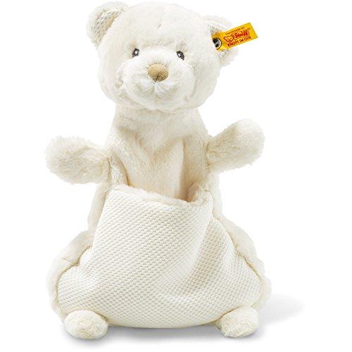 Steiff 240737 Soft Cuddly Friends Giggles Teddybär Schmusetuch Plüsch creme 27 CM