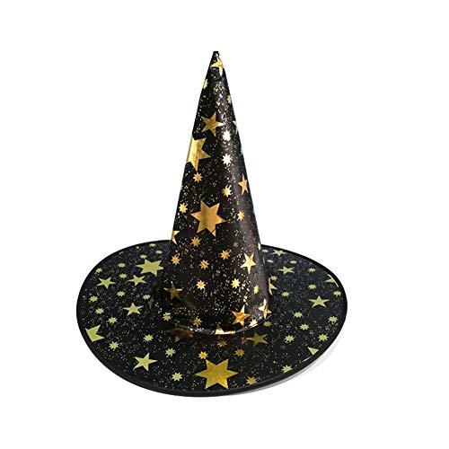 PoeHXtyy 1 Piezas de Halloween Bruja Hat Magic Hat Party Juguetes Cosplay  para Adultos y niños 599bc4b603a