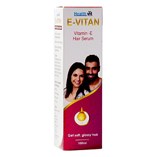 Healthvit E-Vitan Vitamin E Oil Hair Serum 100ml …