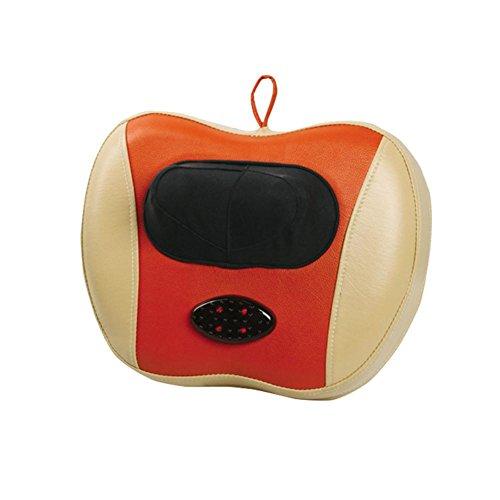 SHISHANG Startseite Massagekissen elektrische Massagekissen Multi-Funktions-Massagekissen zu Hause Heizung Kneten Massagekissen frei Justiergewichts 2.4kg gelb