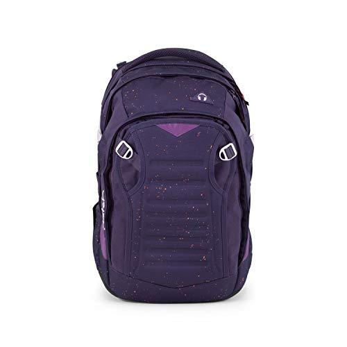 satch Match, Sprinkle Space ergonomischer Schulrucksack, erweiterbar auf 35 Liter, extra Fronttasche